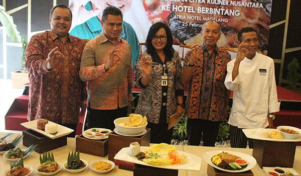 launching kuliner hotel atria magelang