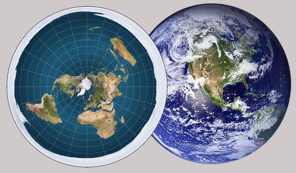 kebenaran Flat earth