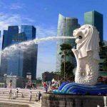 cara liburan ke merlion park singapura